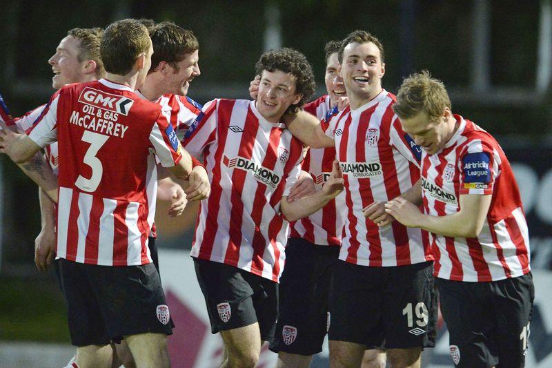 GMK supports Derry City FC GMCK Gallagher & McKinney Ltd